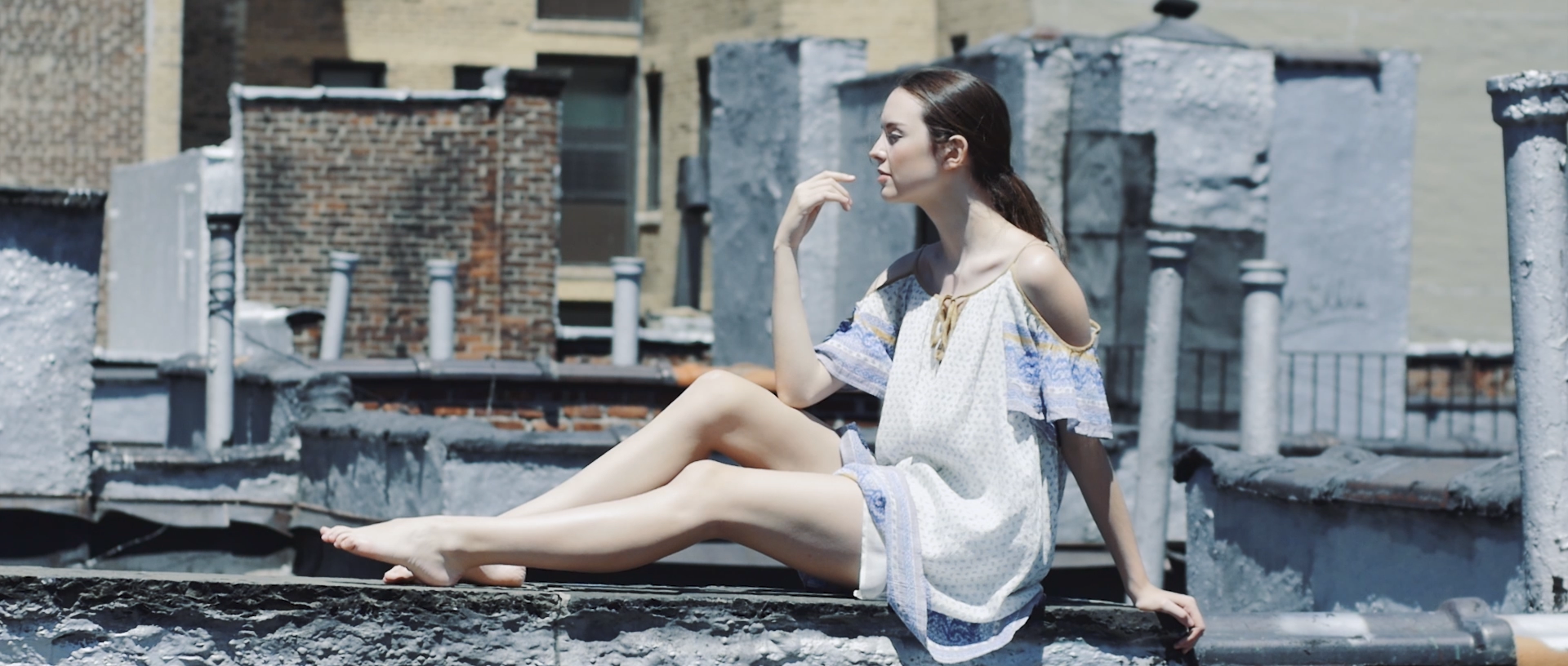 Fashion film with model Kalyn in NY summer 2016 shot by FX Boucherak philocalie films